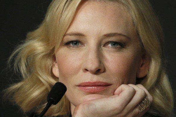Austrálska herečka Cate Blanchett (45).