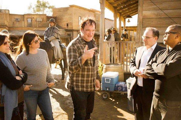 Quentin Tarantino mal naposledy v kinách western Divoký Django.