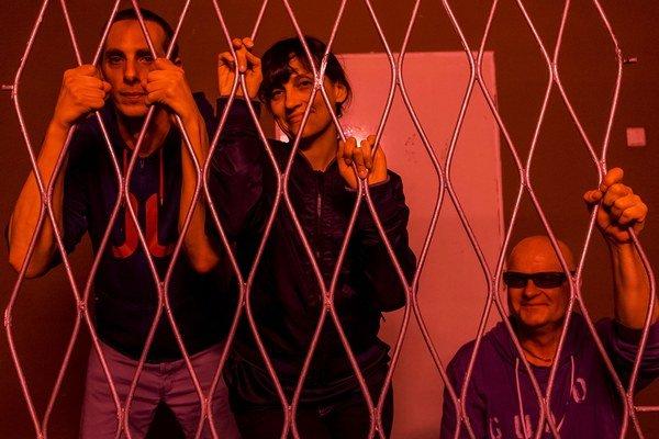 V piatok WWW vystupovali aj v Bratislave, zľava: Ondřej Sifon Anděra,  Milesa Zrnič a Pavel Fajt.
