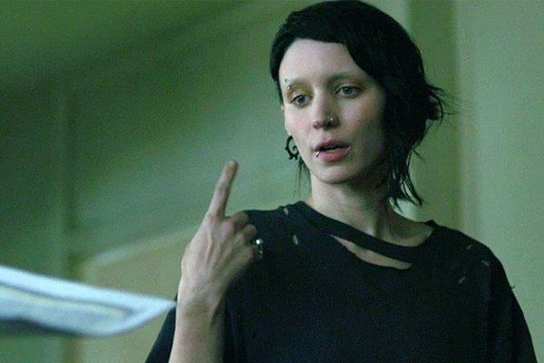 Rooney Mara ako filmová predstaviteľka knižnej Lisbeth.