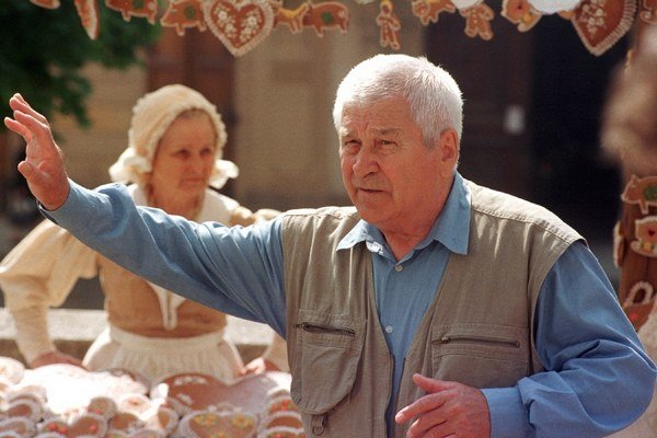 Fotografia Martina Ťapáka z roku 1998.