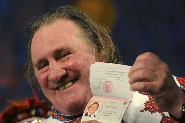 Gérard Depardieu sa cíti najlepšie u Putina, má ruský pas.