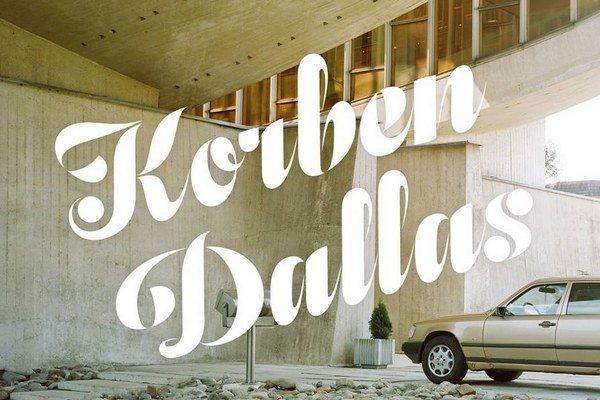 Špeciálne fotografie aj písmo. Novinka Korben Dallas má pekný vizuál.