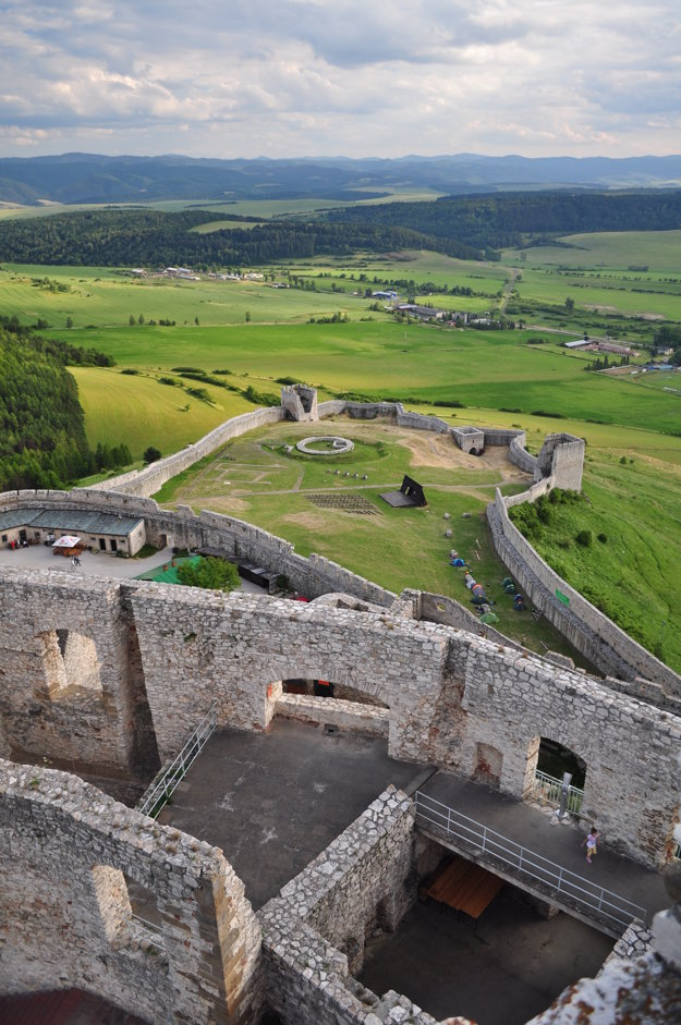 Spišský hrad je od roku 1993 v Zozname svetového dedičstva UNESCO.
