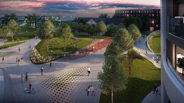 Bratislava by mala dostať aj nový park.
