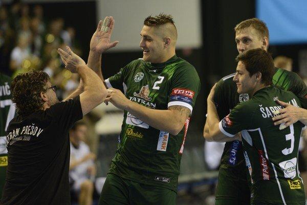 Hádzanári Prešova sa tešili z druhého víťazstva v skupine Ligy majstrov.