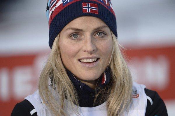 Nórska lyžiarka Therese Johaugová.