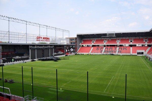 City Arena je najmodernejším štadiónom na Slovensku.