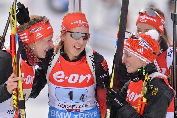 Z výhry sa tešila Nemka Hildenbrandová (vpravo).