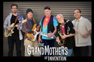 The Grandmothers of Invention. Don Preston uprostred.