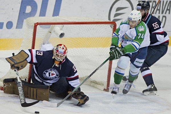 Slovan si už s Ufou sily zmeral - začiatkom októbra na domácom ľade. Prehral po predĺžení.