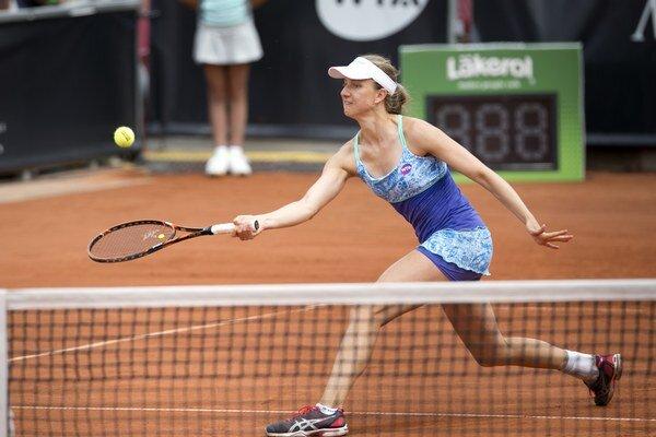 Nemka Barthelová sa môže tešiť z postupu do semifinále.