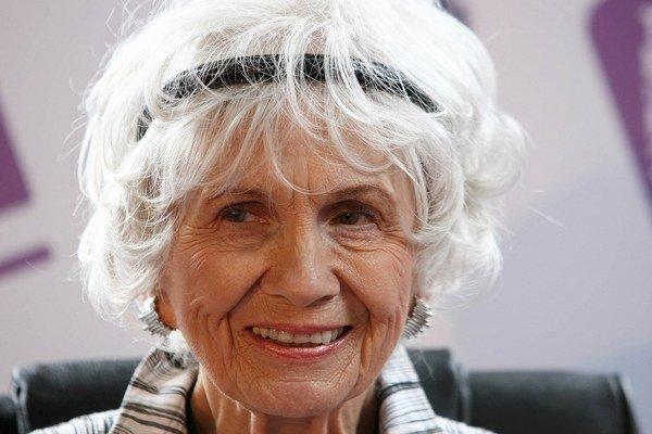 Alice Munroová si Nobelovu cenu za literatúru, ktorá zahŕňa diplom, medailu a šek na odmenu 8 miliónov švédskych korún (cca 930–tisíc eur), prevezme 10. decembra v Štokholme.