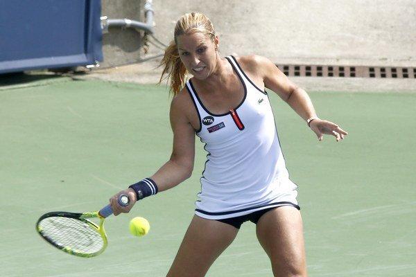 Dominika Cibulková vyhrala v New Havene už druhý zápas.