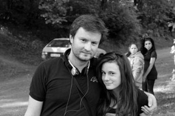 Juraj Lehotský s hlavnou hrdinkou svojho filmu.
