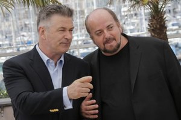 Herec Alec Baldwin (vľavo) a režisér James Toback prišli na festival v trochu nezvyčajnej úlohe.