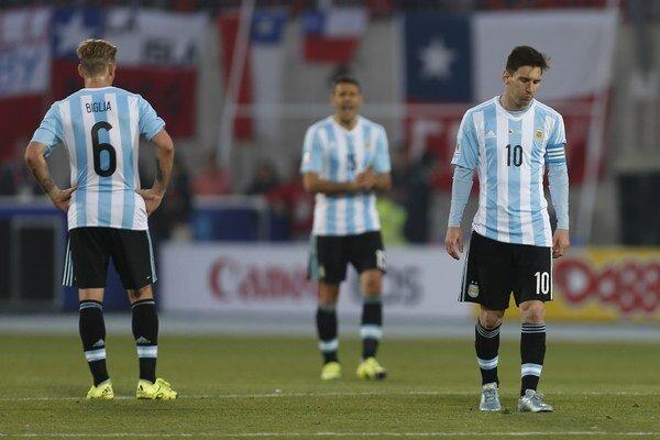 Futbalisti Argentíny postúpili na Copa América až do finále. Tam prehrali s Čile po penaltovom rozstrele.