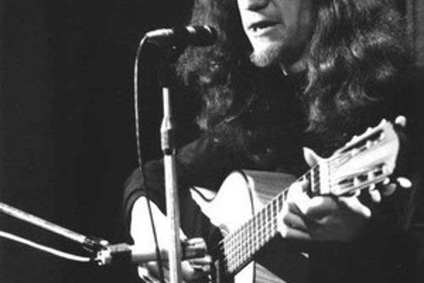 Jaroslav Hutka v polovici 70. rokov.