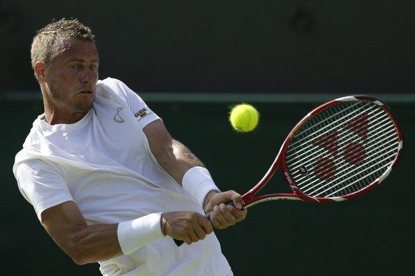 Lleyton Hewitt sa v zrelom tenisovom veku dočkal semifinálovej účasti v tímovej súťaži družstiev.