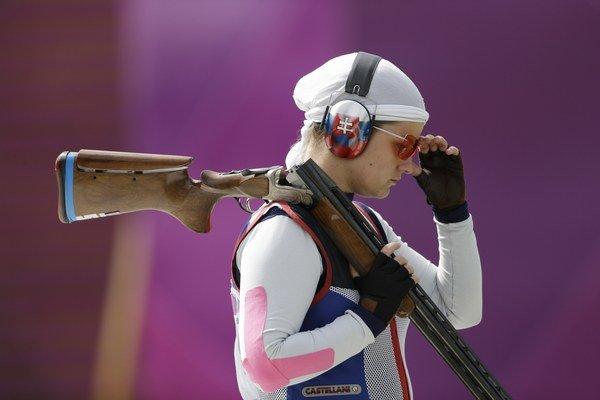 Na striebornej medaile družstva žien v trape sa významnou mierou podieľala aj Zuzana Štefečeková. Následne ovládla individuálnu súťaž.