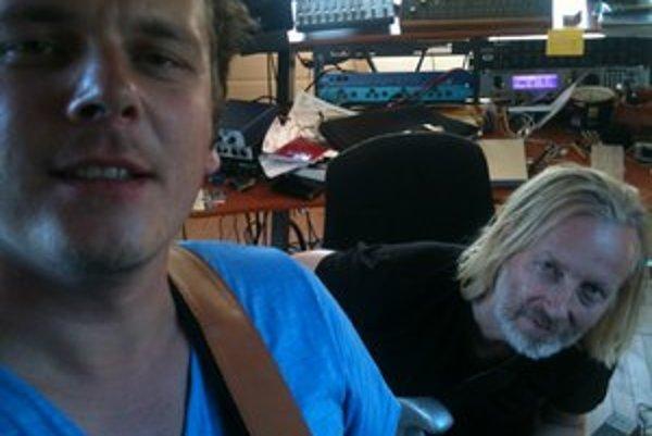 David Kollar a Eivind Aarset. Najskôr bol nórsky gitarista jeho vzorom, teraz spolupracujú.