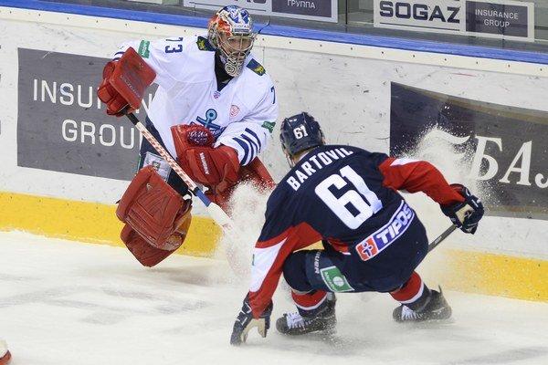 Či sa bude KHL týkať v budúcej sezóne aj Slovanu Bratislava, stále nevedno.