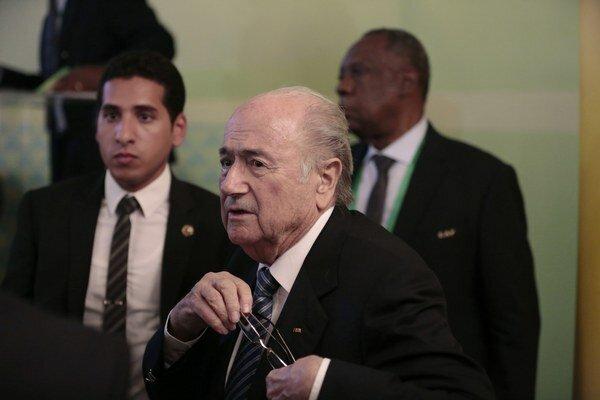 Súčasný prezident FIFA Sepp Blatter sa uchádza už o svoj piaty mandát.