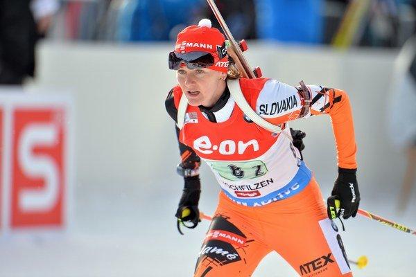 Jana Gereková je najlepšou slovenskou biatlonistkou.