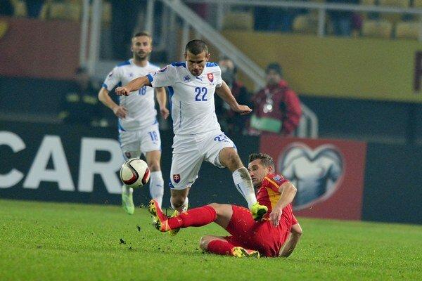 Na jeseň Slováci vyhrali v Macedónsku 2:0.