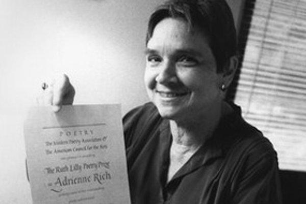 Adrienne Richová písala o ženách aj politike.