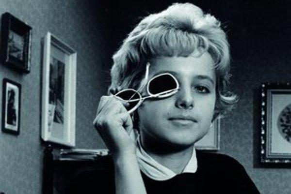 Jana Beláková ako Bela vo filme Slnko v sieti v roku 1962