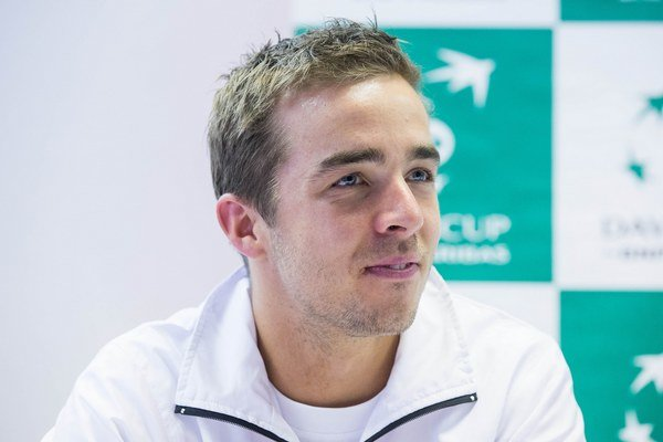 Slovenský tenista má na konte aj štarty v slovenskom daviscupovom tíme.