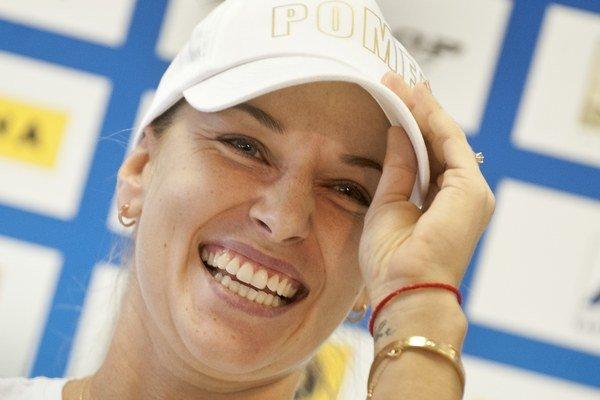 Dominika Cibulková trávi momentálne čas v blízkosti fedcupového tímu.