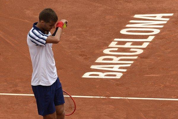 Semifinále bolo pre Martina Kližana v Barcelone konečnou.