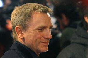 Daniel Craig na premiére Mužov, ktorí nenávidia ženy.
