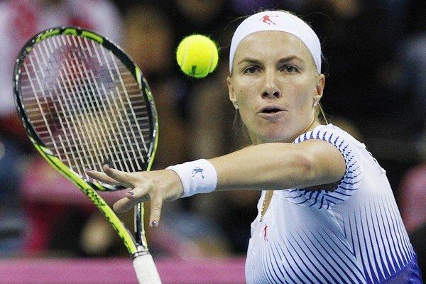 Svetlana Kuznecovová vyhrala naposledy turnaj WTA v októbri 2013 v Moskve.