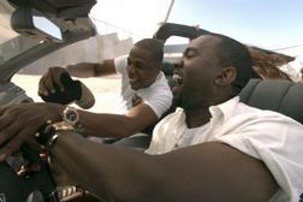 Spike Jonze pobavil raperov Kanye Westa a JayZ.