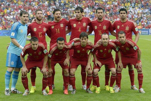 Futbalisti Španielska boli mimo najlepšej desiatky naposledy v roku 2007.