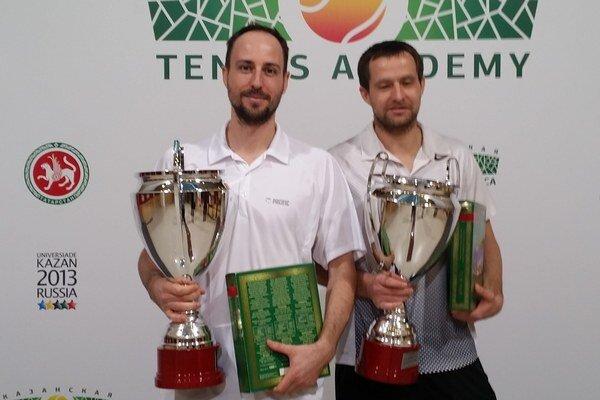 Igor Zelenay (vľavo) s Rusom Michailom Jelginom.