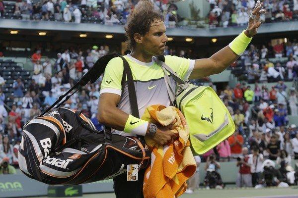 Rafael Nadal prežíva krízu. Do formy sa chce vrátiť na antuke.