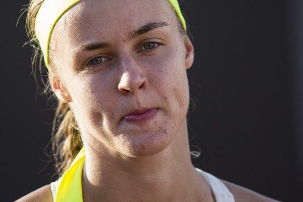 Mladá slovenská tenistka sa v Katoviciach prezentuje zatiaľ v solídnej forme.