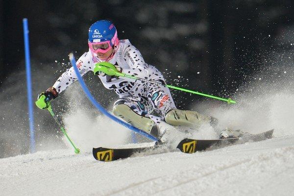 Veronika Velez-Zuzulová dosiahla vo Flachau najlepší výsledok sezóny.