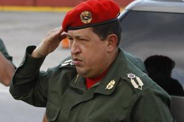 El comandante Chávez.