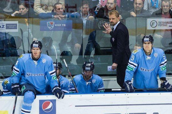 Tréner Slovana Petri Matikainen i hráči mali o sezóne inú predstavu.