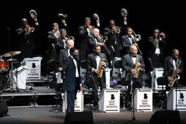 Členovia dnešnej zostavy Count Basie Orchestra.