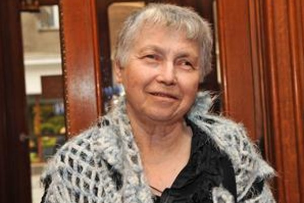 Poetka Natália Gorbanevská sa cez víkend zúčastnila na Stredoeurópskom fóre v Bratislave.