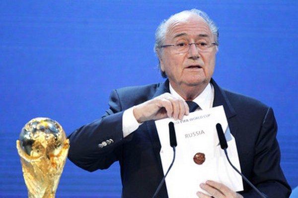 Prezident FIFA Sepp Blatter nemá najlepšiu povesť.