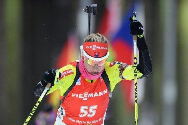 Slovenská reprezentantka Paulína Fialková.