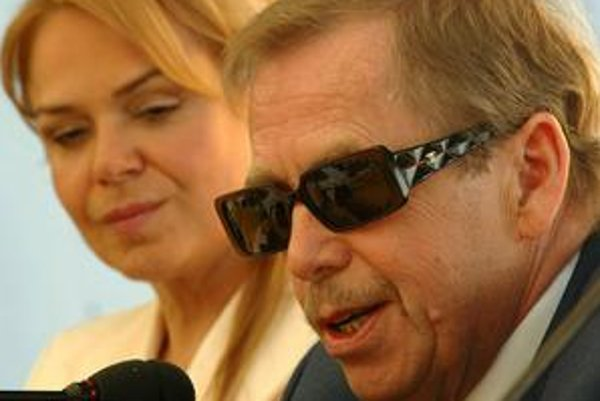 Václav Havel obsadí do svojho filmu manželku Dášu