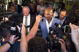 Bývalý boxer Mike Tyson prehajdákal milióny.